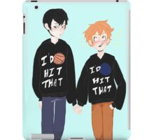 Volleyball Puns and Volleyball Funs iPad Case/Skin
