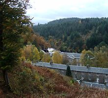 View of New Lanark Mill, Scotland by biddumy