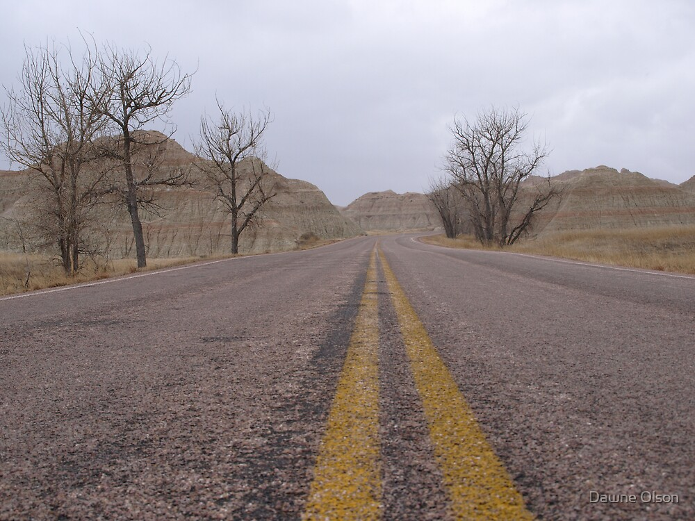 Welcome to the Badlands by Dawne Olson