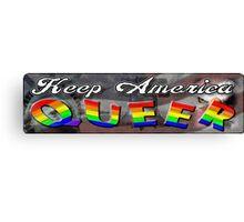 Keep America Queer Canvas Print