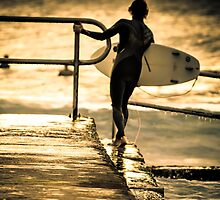 Heading out by Geraldine Lefoe