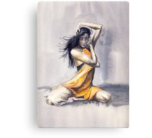 Sitting Dance Canvas Print