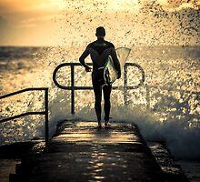 Hit the water by Geraldine Lefoe