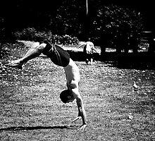 Bending over backwards by David Petranker