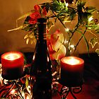 Wine & Lights Aglow by HeavenOnEarth