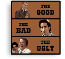 Seinfeld - Mr Bookman - Good Bad Ugly T Shirt Canvas Print