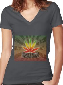 Herb Essentials Women's Fitted V-Neck T-Shirt