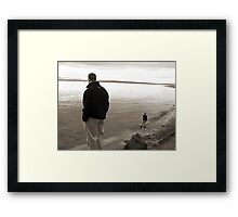 Big Child, Small Child Framed Print