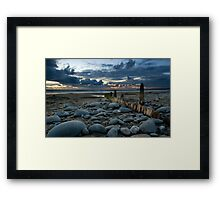Old groyne 2 Framed Print
