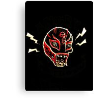 Zombie Luchador Canvas Print