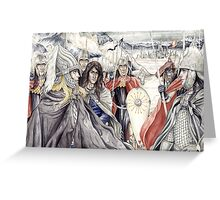 A Vision of Gondolin Greeting Card