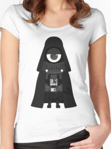 Minion Darth Vader Despicable Me Women's Fitted Scoop T-Shirt