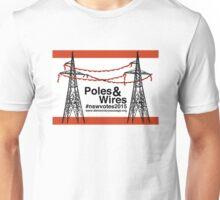 Poles & Wires Unisex T-Shirt