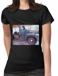1950s International Truck Womens Fitted T-Shirt