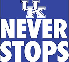 Kentucky Never Stops shirt, hoodie and more Photographic Print