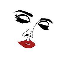 Lana Del Rey  Face Original Artwork (Normal) by anecdote