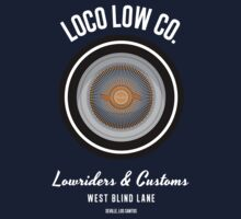 Loco Low Co. (White) Kids Tee