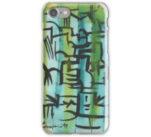 CHICKEN FEET, OTHER BIRDS AND SIGNS(C1999) iPhone Case/Skin