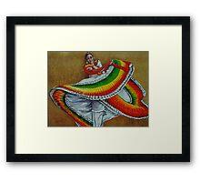 Fandango Dancer Framed Print
