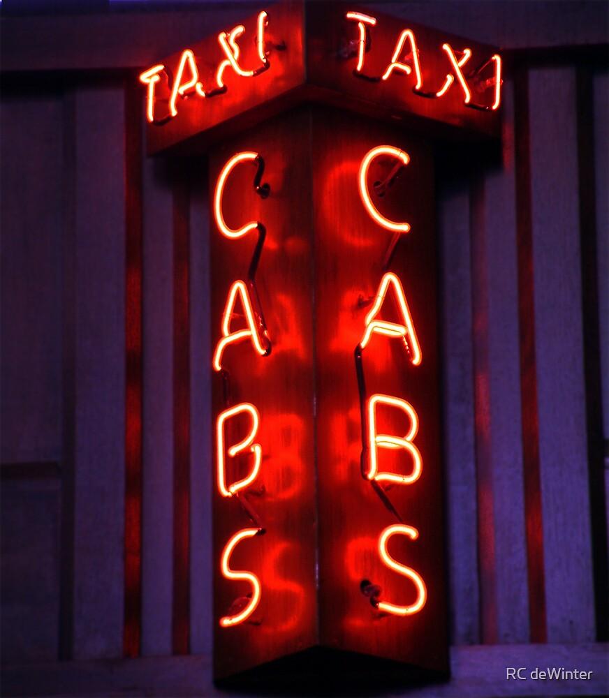 Taxi! by RC deWinter