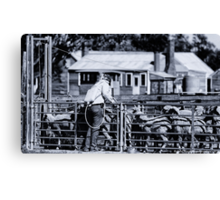 Drenched - Tubbo Station NSW (2008) Canvas Print