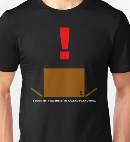 I lost My Virginity In A Cardboard Box Unisex T-Shirt