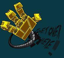 blitzcrank - get over here!! by Vitor Adler