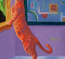 Museum Cat 1 by jimmie