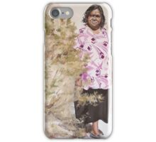 Anna and the Bush Medicine (Aherne Intenke) iPhone Case/Skin