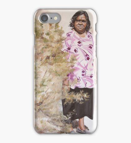 Anna and the Bush Medicine (Aherne Intenke) iPhone Case/Skin
