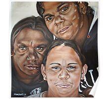 Renee, Kirsten and Karina Poster
