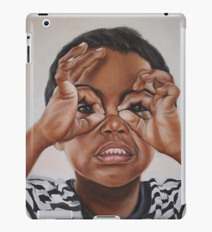 Latham's goggles iPad Case/Skin