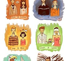 My favorite romantic movie couples by exeivier