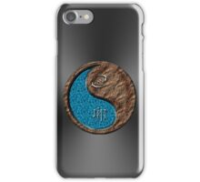 Cancer & Rabbit Yin Earth iPhone Case/Skin