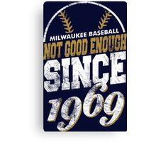 Milwaukee Baseball Canvas Print