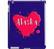 Alaska Splash Heart Alaska iPad Case/Skin