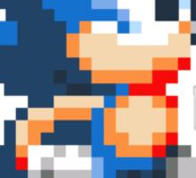 16 Bit Sonic Sticker