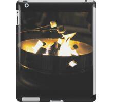 Marshmallow Roast  iPad Case/Skin