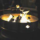 Marshmallow Roast  by kitkat55555