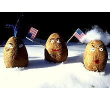 Which One Is The American Spud ? Photographic Print