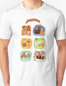 My favorite romantic movie couples T-Shirt
