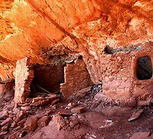 Anasazi Ruins by Rick Schafer