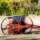 Old Seed Drill by Glenna Walker