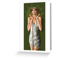 Oh Those Fabulous Flappers Greeting Card