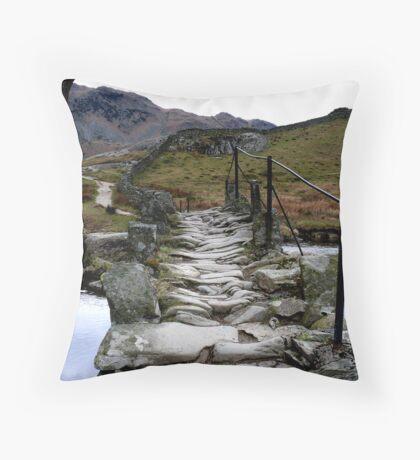 Slaters Bridge Little Langdale Throw Pillow