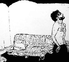 Still : Ten years ink on watercolour paper 24/02/2012 by Patrick O'Rourke