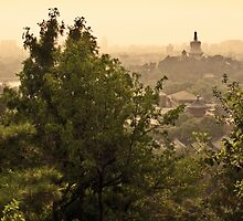 View from Jing Shan by boehmgraphics