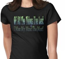 Things Lost Womens Fitted T-Shirt