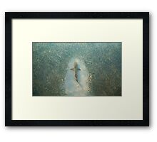 The Parting of the Feast Framed Print