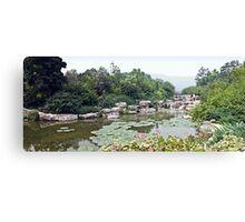 Beijing Botanical Gardens Canvas Print
